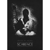 Scarface 32x45cm