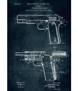 Displate Firearm 32x45cm