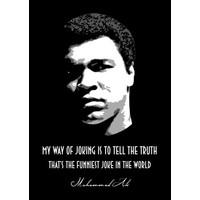 Muhammad Ali 32x45cm