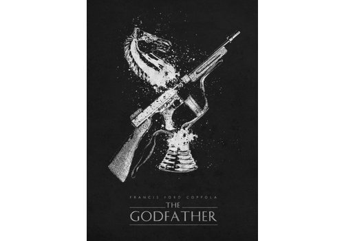 Displate The Godfather Classic 48x67cm