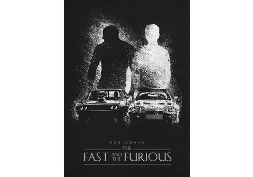 Displate The fast and the furious 48x67cm