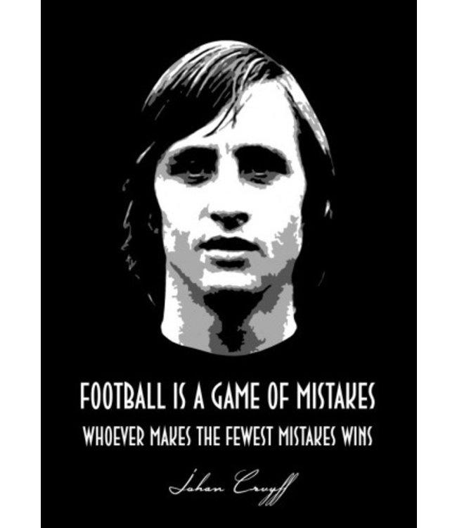 Displate Johan Cruyff 48x67cm