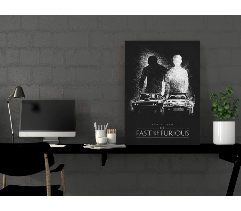 The fast and the furious 48x67cm