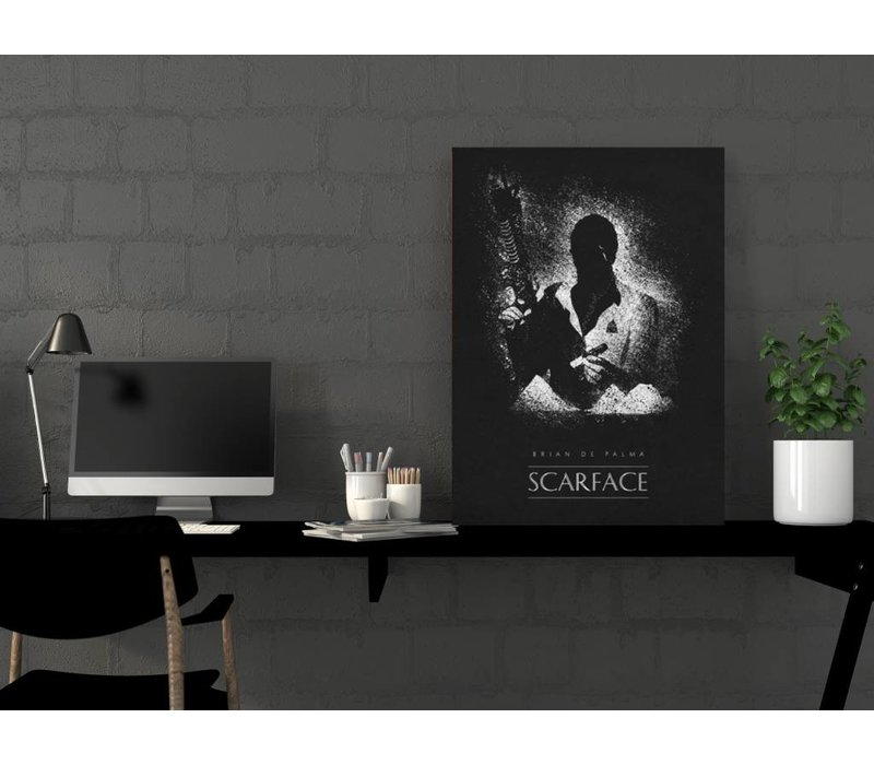 Scarface 48x67cm