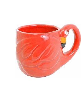 BLOND AMSTERDAM Paradise flamingo mug red
