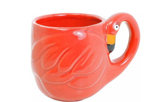 BLOND AMSTERDAM Paradise flamingo mug red