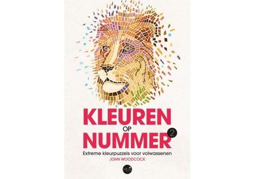 BBNC Kleuren op nummer leeuw