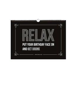 Beezonder A4 Verjaardagskalender