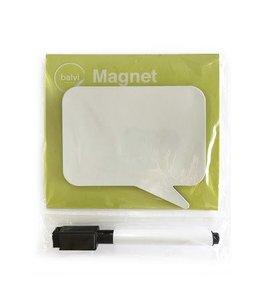 Balvi Fridge board talk magnetic squared