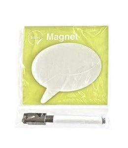 Balvi Fridge board talk magnetic round