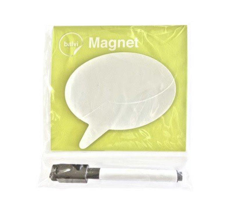 Magneet voor op de koelkast