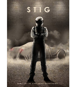 Displate The Stig 48x67cm