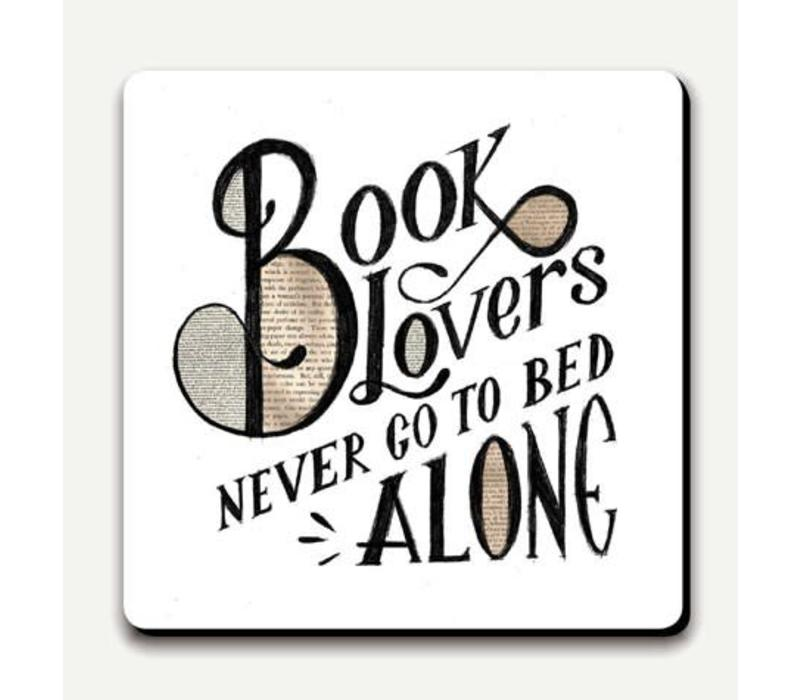 onderzetter- Booklovers