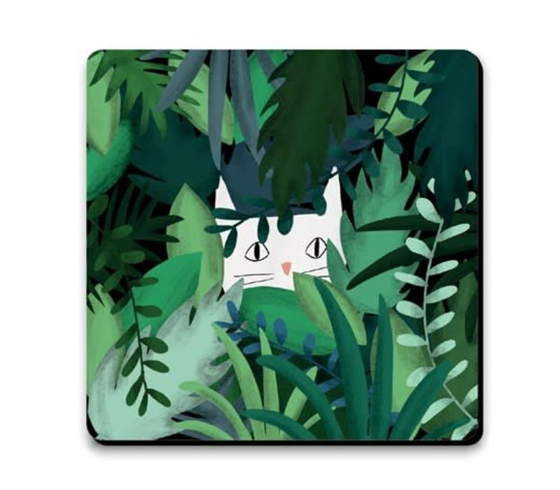 Onderzetter - Jungle cat