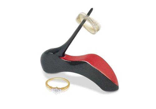 high heel ringholder