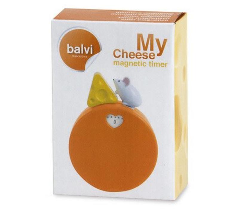 Kookwekker My Cheese met magneet