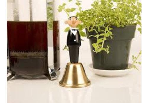 Kikkerland waiter dinner bell