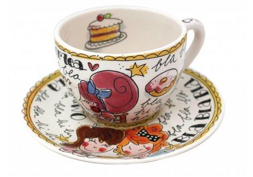 BLOND AMSTERDAM kop en schotel time for tea