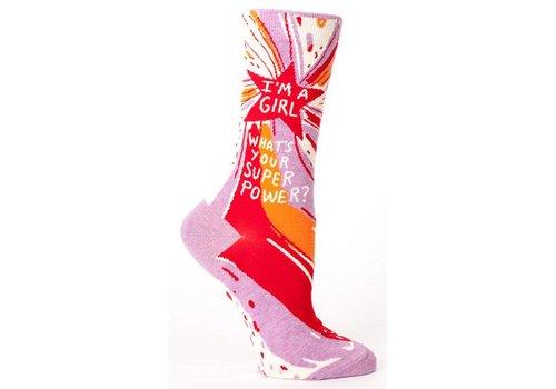 Cortina Socks - I'm a girl