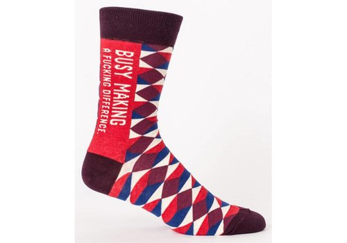 Cortina Men Socks - Busy making a fucking difference
