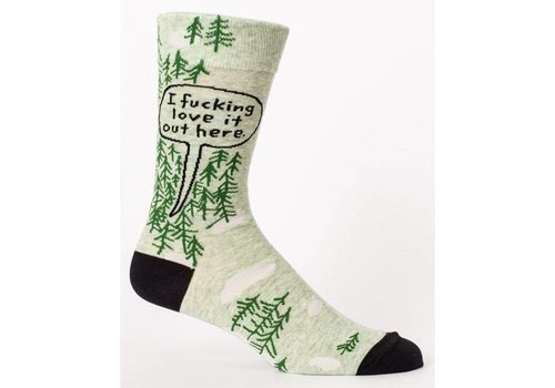 Cortina Men Socks - I fucking love it out here