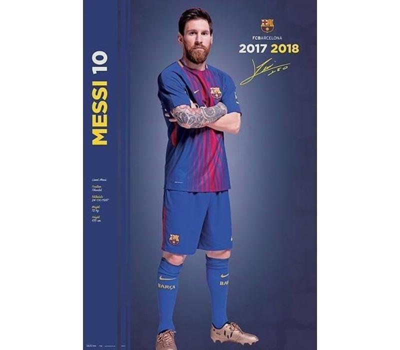 Barcelona Messi 17/18