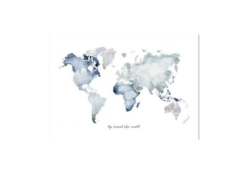 Leo La Douce Artprint 50x70 - Go travel the world