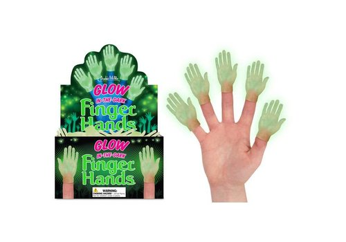 Cortina Fingerpuppet Hand Glow-in-the-dark
