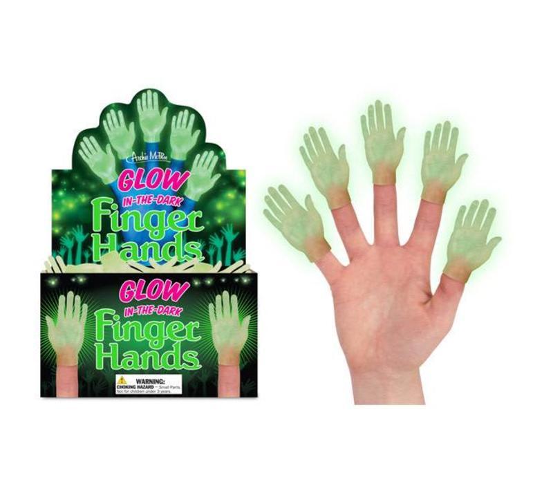 Fingerpuppet Hand Glow-in-the-dark