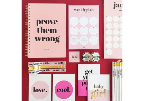 Noteblock Weekly Plan