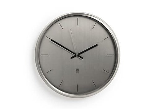 Meta wall clock Nickel