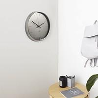 Meta wall clock Nickel