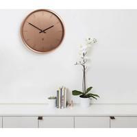 Meta wall clock Copper