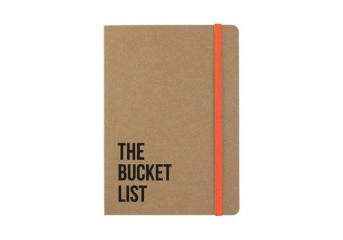 Beezonder Notitieboekje The Bucket list Kraft
