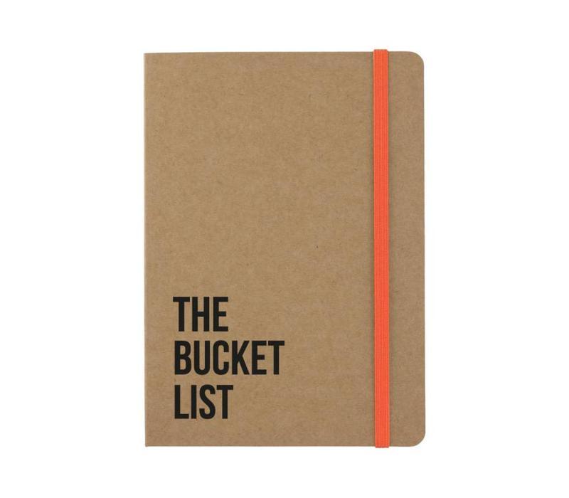 Notitieboekje The Bucket list Kraft