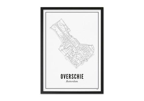 Wijck Poster Overschie 50x70