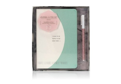 Cortina We live like this This Journal & Pen Set