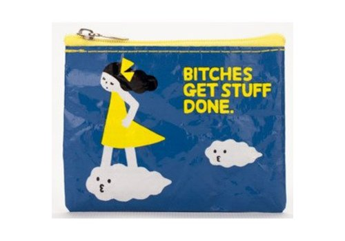 Cortina Coin Purse - Bitches get stuff done