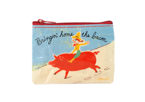 Cortina Coin Purse - Bringin home the bacon