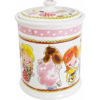 Storage jar pink
