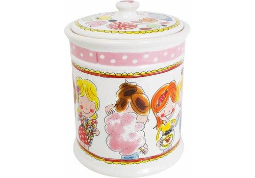 BLOND AMSTERDAM Storage jar pink