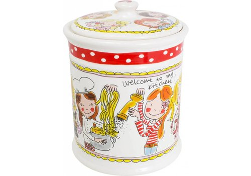BLOND AMSTERDAM Storage Jar Red