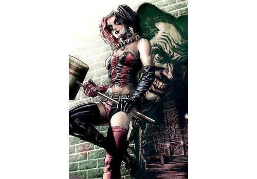 Batman Harley Quinn Pose
