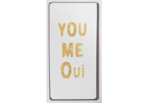 Magneet You me Oui