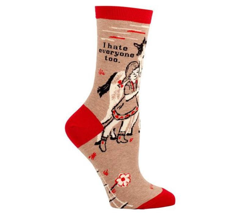 Socks - I hate everyone too