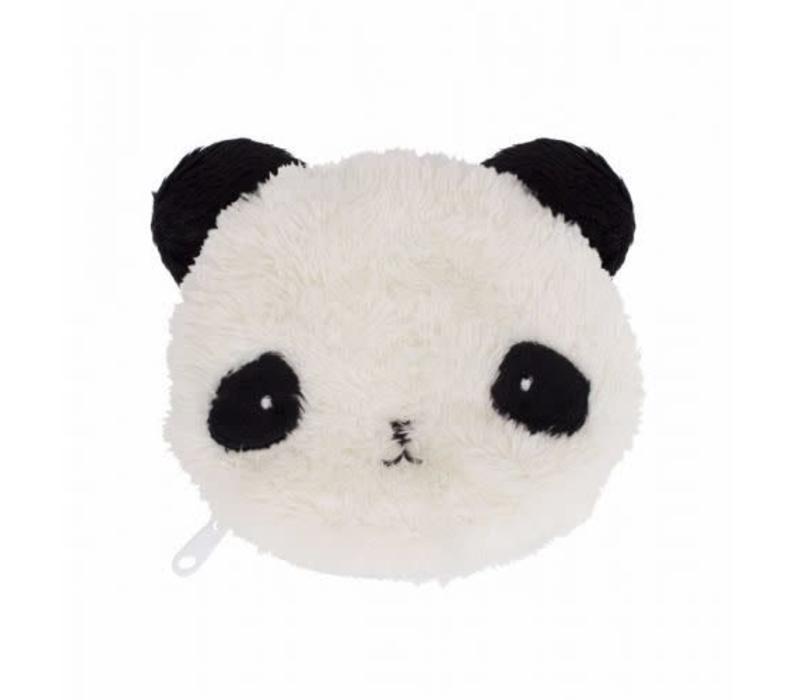 Pocket money purse fluffy panda
