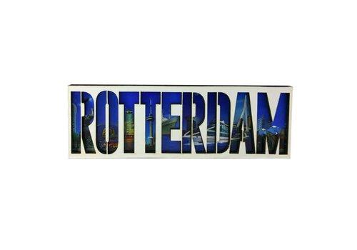 Magneet Rotterdam gestanst