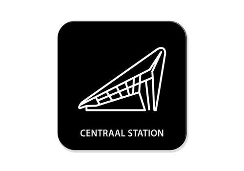 Onderzetter- Centraal Station