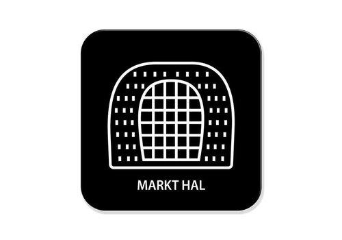 Onderzetter- Markthal