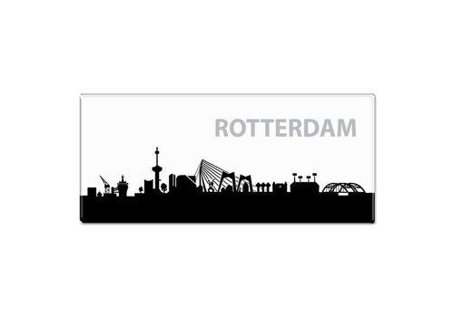 Fotomagneet skyline Rotterdam